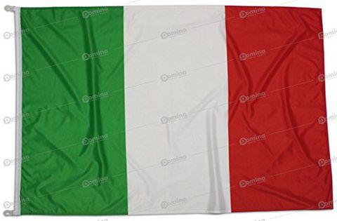 Bandiera Italia 225x150 Centimetri Tessuto Nautico Antivento