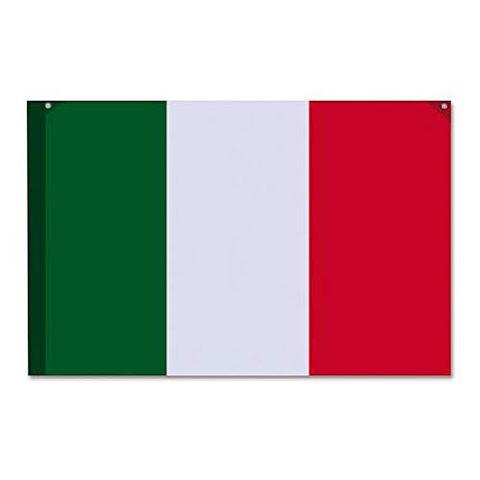 Bandiera italia italiana 70x100 con passante per l'asta