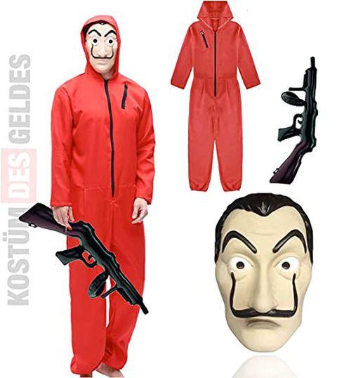 La Casa Di Carta - Maschera e costume