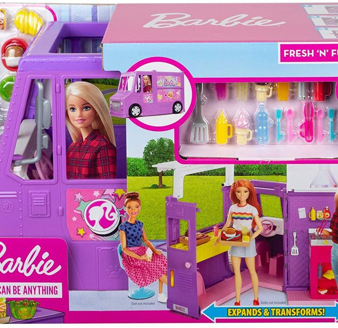 Barbie Furgoncino Street Food