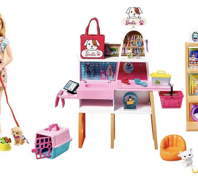 Barbie Playset Negozio degli Animali