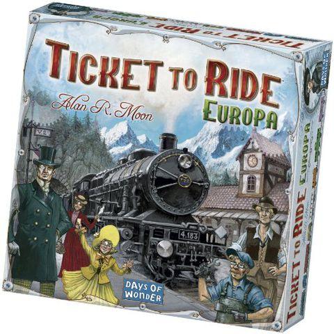 Ticket to Ride Europa (Edizione Italiana)