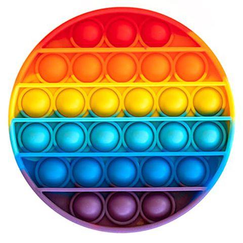 Pop It per Adulti e Bambini (Cerchio Arcobaleno)