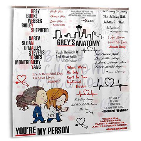 Grey's Anatomy Tenda da doccia 180x180cm
