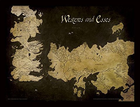 Game of Thrones - Stampa con Cornice, 30 x 40 cm