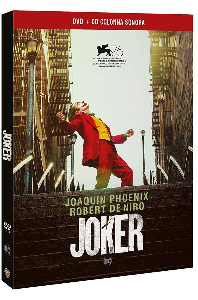 Il DVD+CD del film Joker
