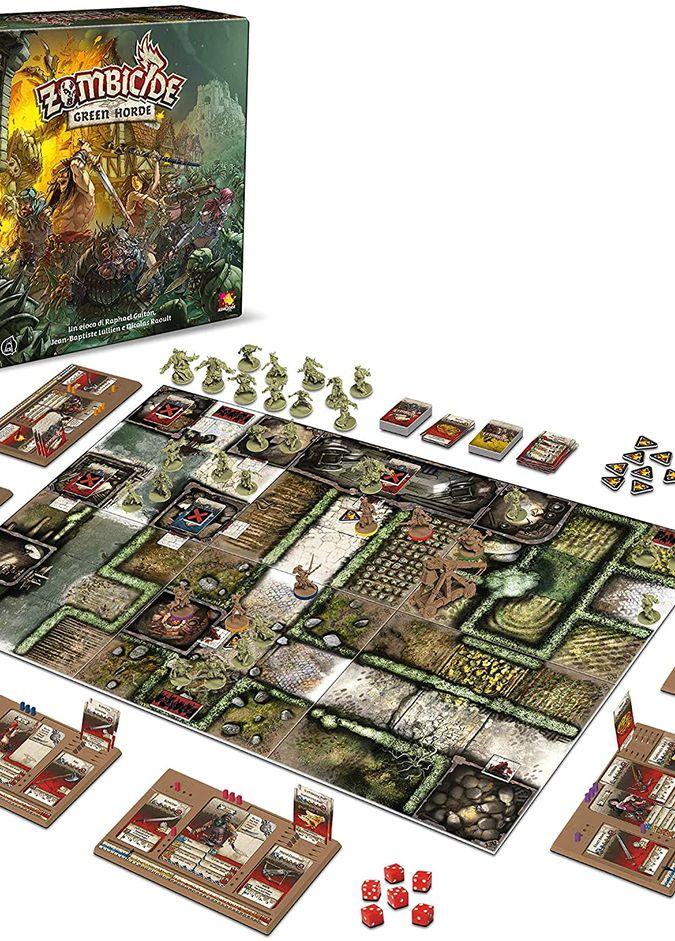 Asmodee- Zombicide Green Horde