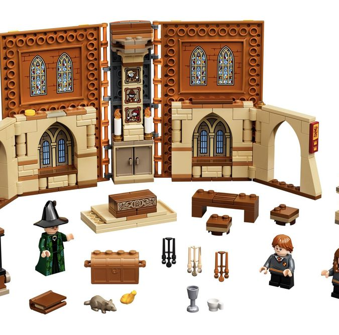 LEGO Harry Potter Lezione di Trasfigurazione a Hogwarts