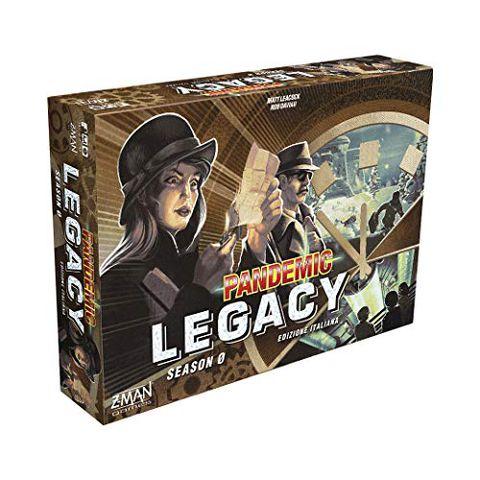 Pandemic Legacy: Season 0 (Edizione in Italiano)