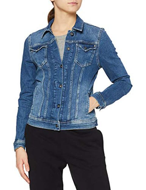 Pepe Jeans Thrift. Giacca in Jeans, Blu