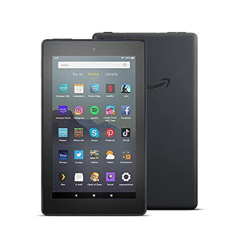 Tablet Fire 7, schermo da 7″, 32 GB (Nero)