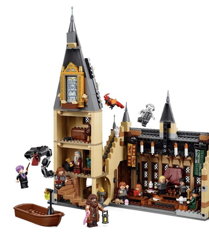 LEGO Harry Potter La Sala Grande di Hogwarts