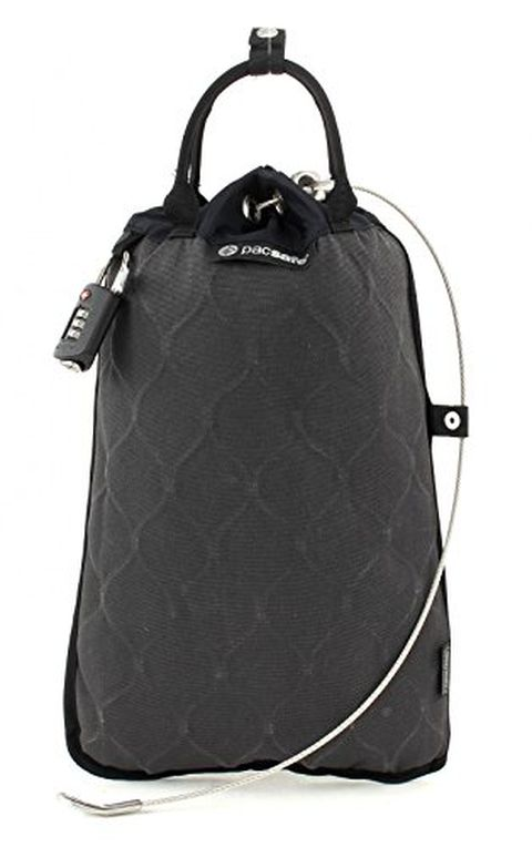 Pacsafe Travelsafe GII Cassaforte portatile, Charcoal 5L (grigio)