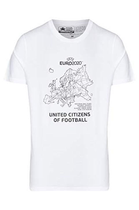 UEFA EURO 2020 Maglietta 'Host Cities' Bianco (S)